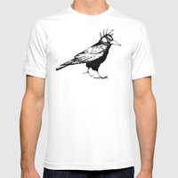 Corvus Punkus Mens Fitted Tee White SMALL