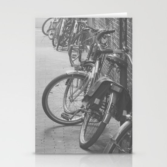 amsterdam bicycles... Stationery Card