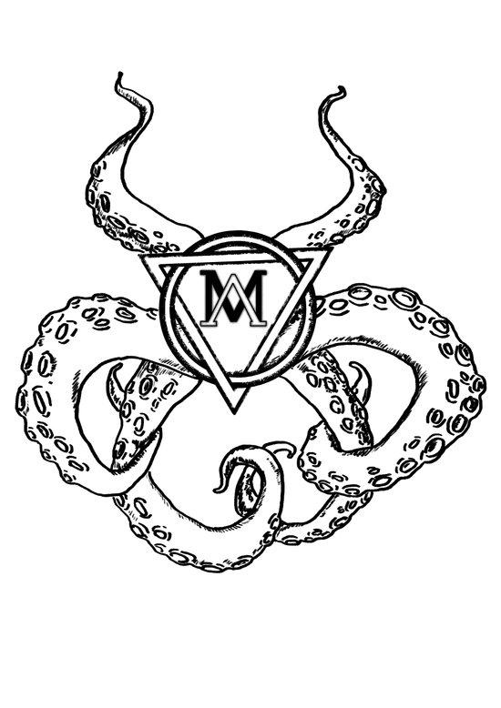 monsters logo Art Print