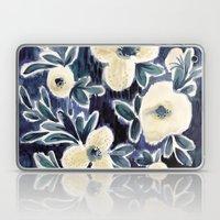 Midnight Laguna Flower Laptop & iPad Skin
