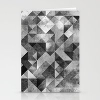 Moon Matrix Stationery Cards