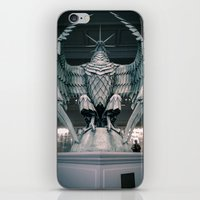 The Eagle from the Hello H5 exposition at la Gaité Lyrique. iPhone & iPod Skin