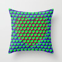 E-MOTION: Moving Hearts Throw Pillow
