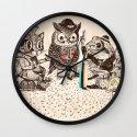 Strange Animals Wall Clock