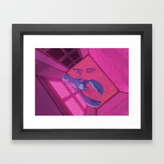 Just Outside These Walls Framed Art Print