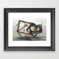 Zeitlose Kunst Framed Art Print
