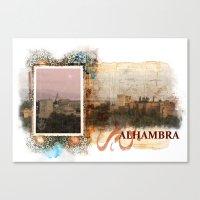 Al Hambra Canvas Print