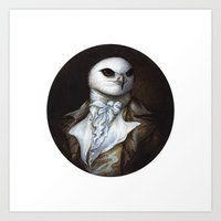 Sir Kite Art Print