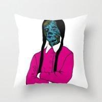 Merlina Throw Pillow