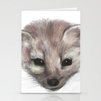 Pine Marten Stationery Cards