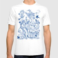 AS SEEN ON TV Mens Fitted Tee White SMALL
