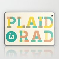 Plaid Is Rad Laptop & iPad Skin