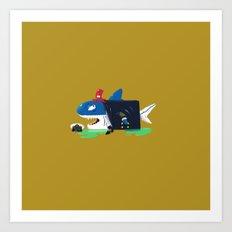 The Ship Captain Art Print