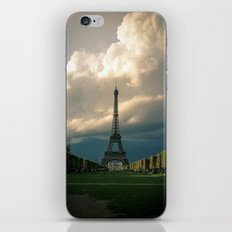 Paris, the Eiffel Tower in November iPhone & iPod Skin