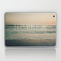 Let's Run Away By Laura … Laptop & iPad Skin