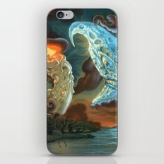 Out brief candle iPhone & iPod Skin
