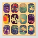 Spring collage Canvas Print