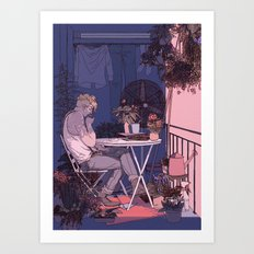 in another lifetime, maybe. Art Print