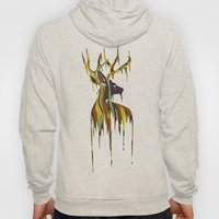 Painted Stag Hoody