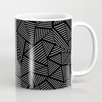Abstraction Linear Mug