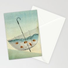 precarious position Stationery Cards