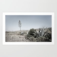 inhale andaluz Art Print