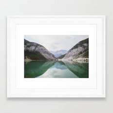 Clear Days Framed Art Print