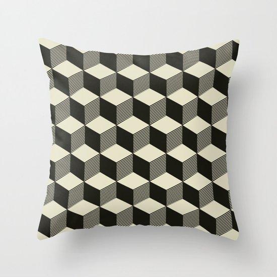 Metatron Cubes 02 Throw Pillow