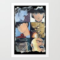 Akira: Pulped Fiction edition Art Print