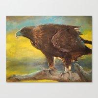 Golden Eagle (Aquila Chr… Canvas Print