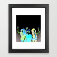 Three Zero Three Framed Art Print