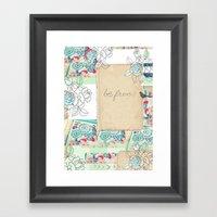 Be Free! Framed Art Print