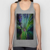 Tropical Plants and Flowers Unisex Tank Top