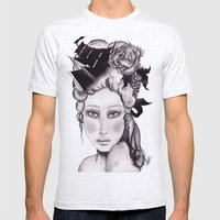Shipwrecked Antoinette Mens Fitted Tee Ash Grey SMALL