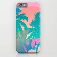 iPhone Cases featuring MIAMI by DIVIDUS
