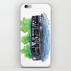 Water Living in Amsterdam by Charlotte Vallance iPhone & iPod Skin