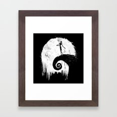 All Hallow's Eve Framed Art Print
