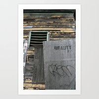 Beauty Art Print