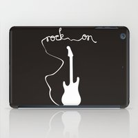 Rock On iPad Case