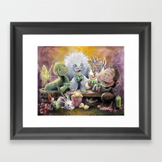 Urban Legends game night Framed Art Print