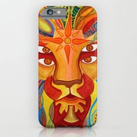 iPhone & iPod Case featuring Lion's Visions by Hazeart