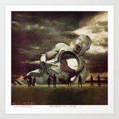 Eulogy of LOVE Art Print