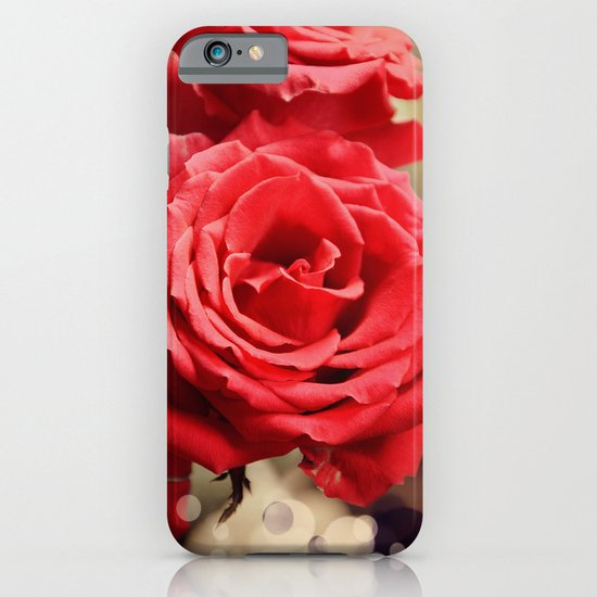 Romantic Roses and Light spots iPhone & iPod Case