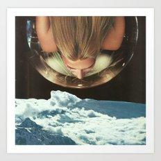 Down To Earth 2 Art Print