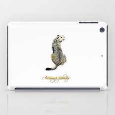 acinonyx jubatus iPad Case