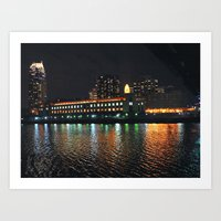 Downtown Minneapolis  Art Print