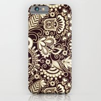 VINTAGE VECTOR FLOWERS 1 - for iphone iPhone 6 Slim Case
