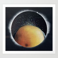 View From A Black Hole Art Print