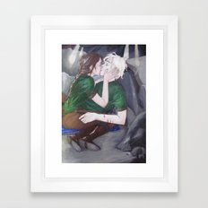 In the Cave Framed Art Print