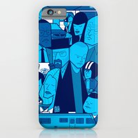 iPhone & iPod Case featuring Breaking Bad (blue version) by Ale Giorgini